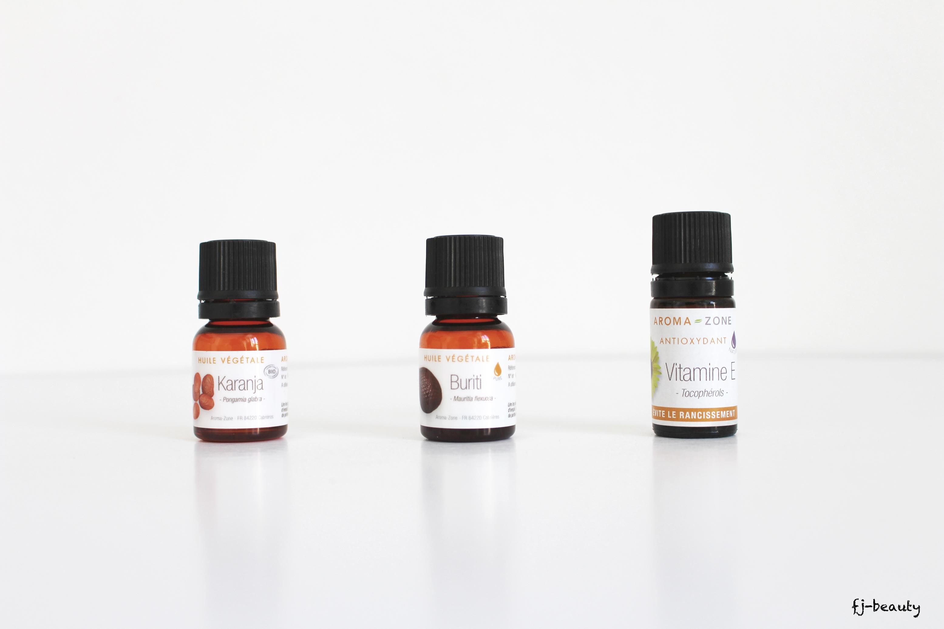 huile spf 15