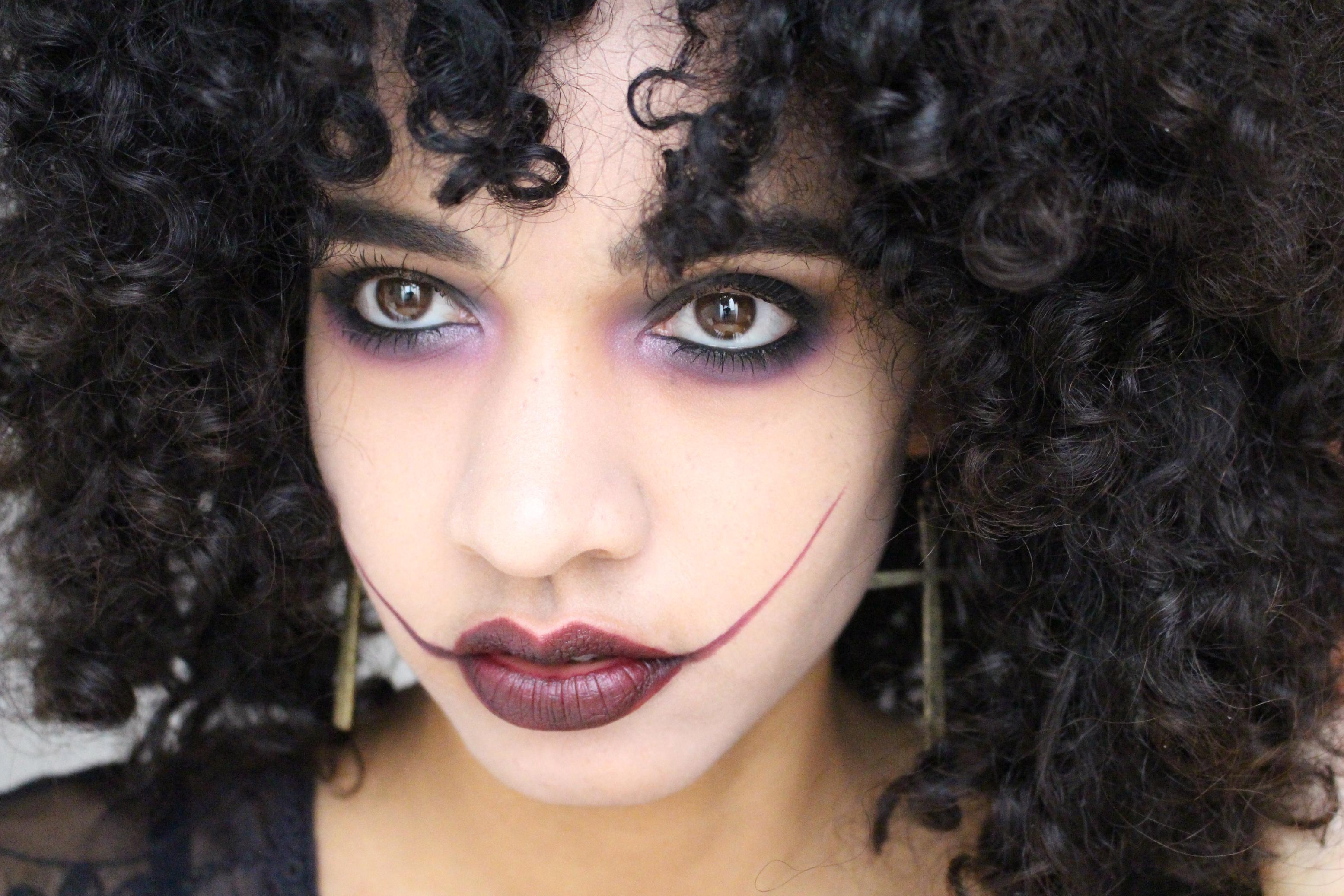makeup dark halloween