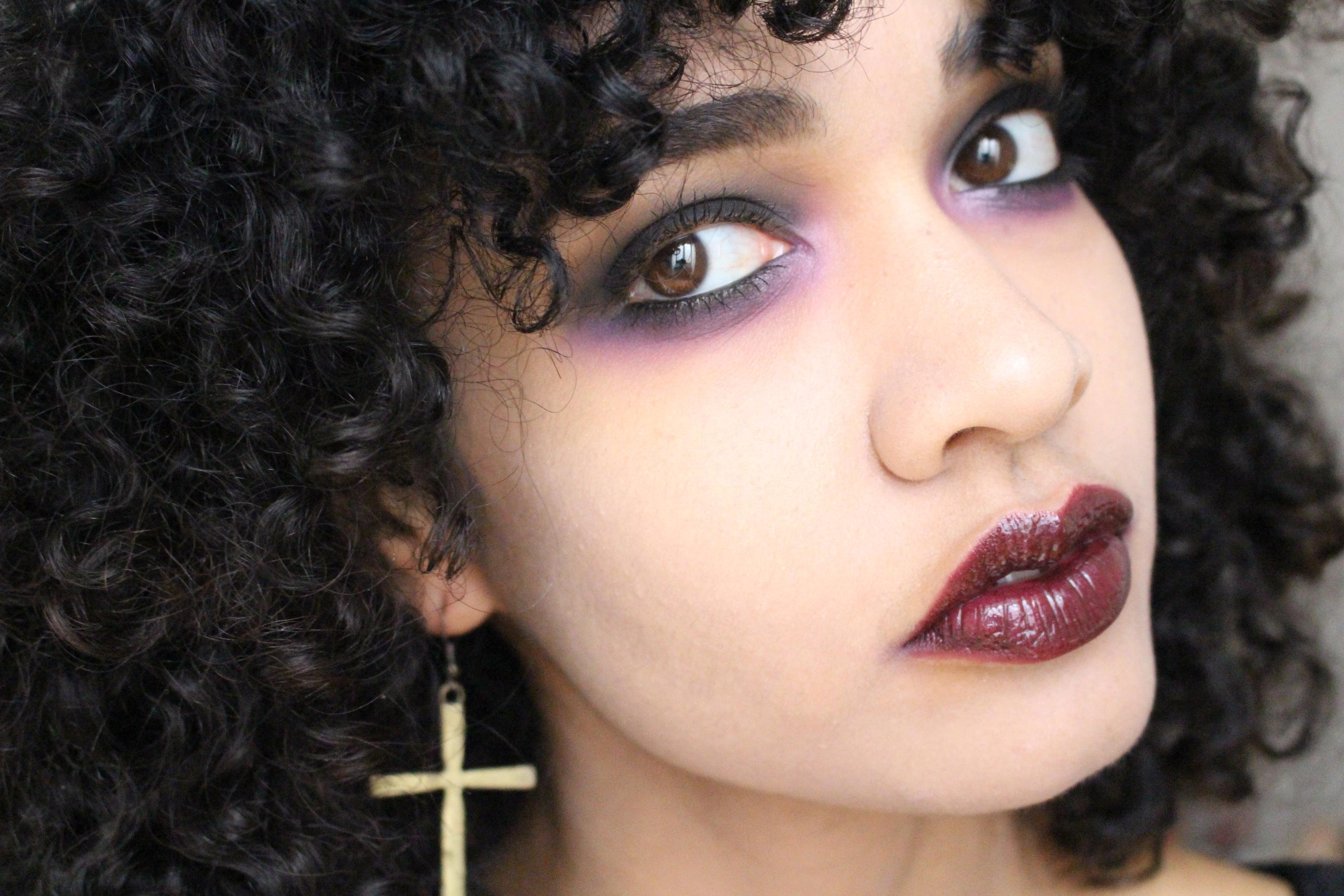 makeup halloween dark
