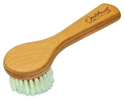 brosse visage bois