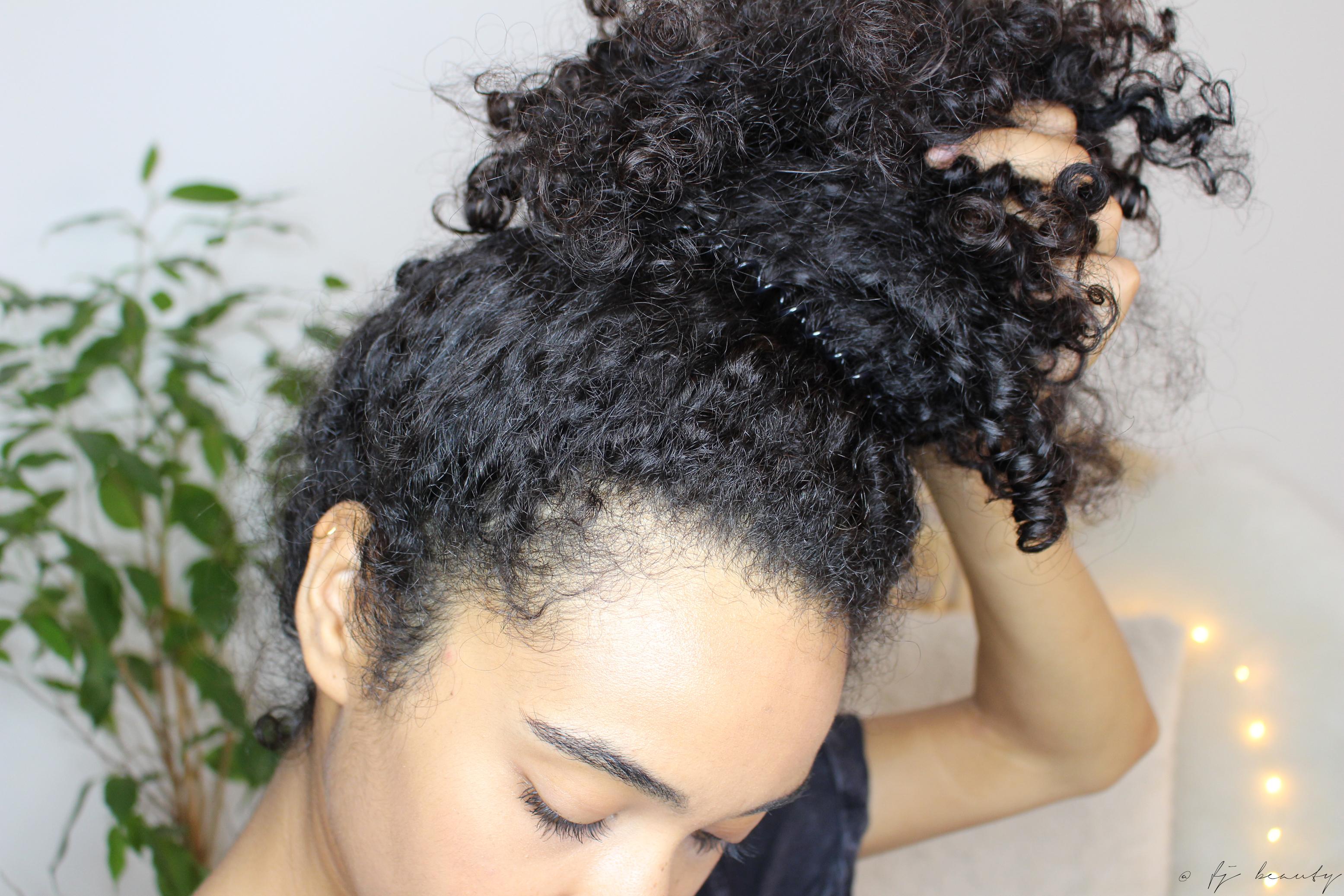 pineapple cheveux bouclés protéger