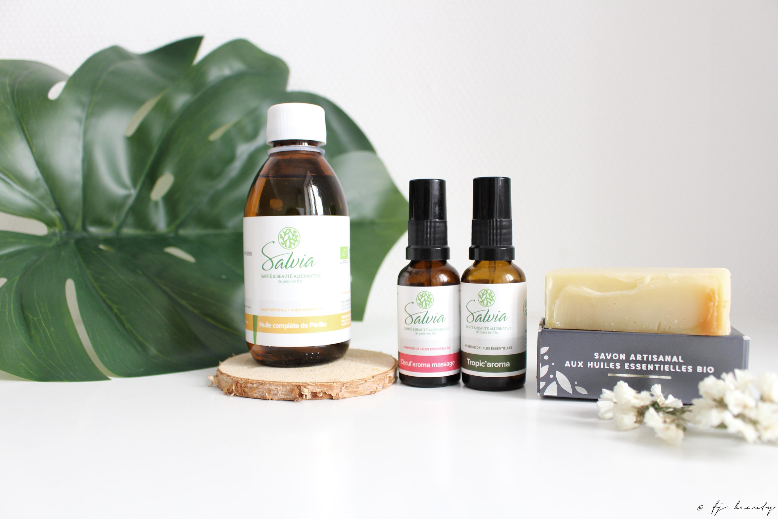 salvia nutrition aromathérapie