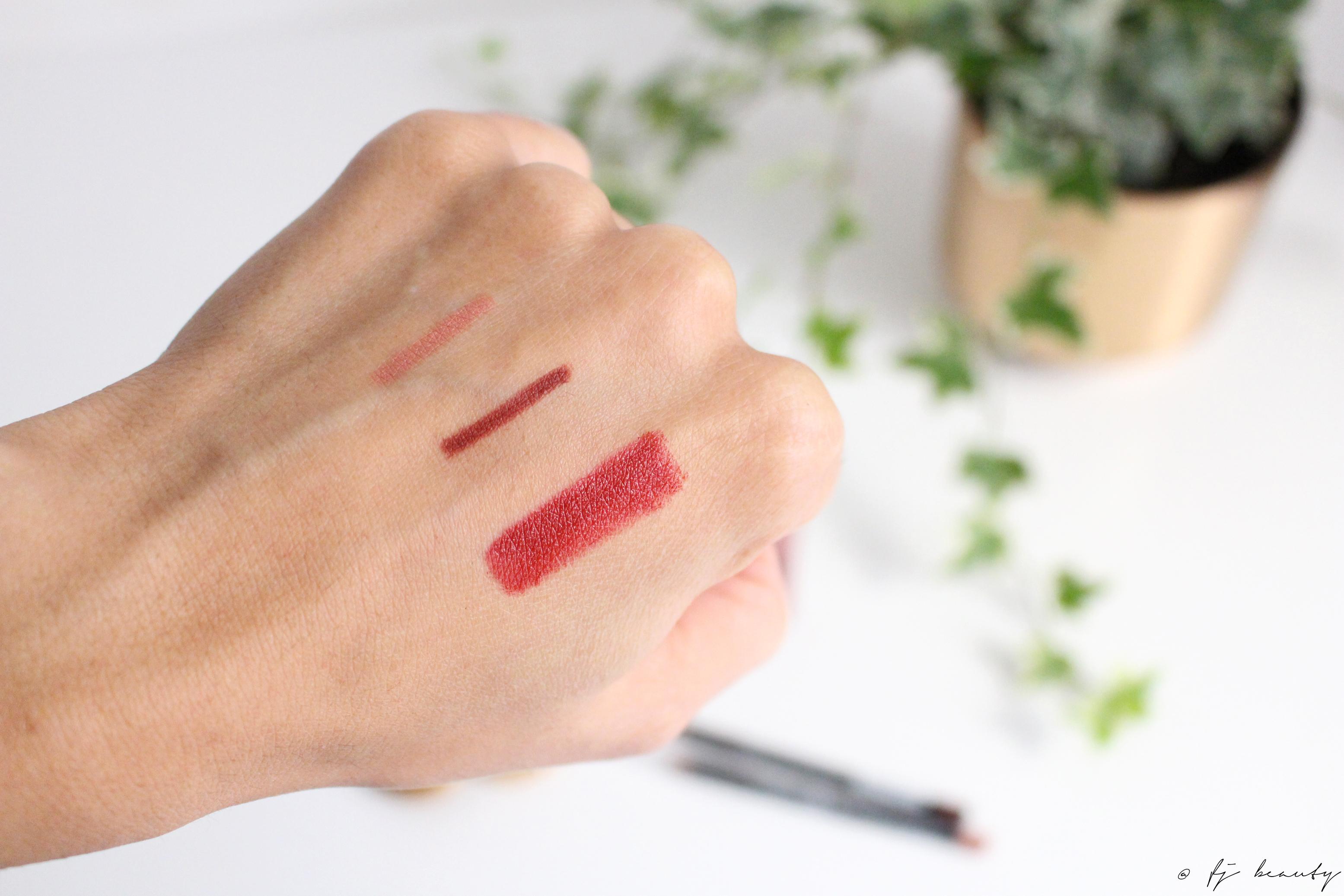 swatch maquillage bio