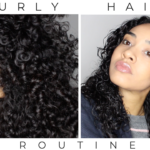 BOUCLES DEFINIES : routine capillaire en video (praying et rake & shake méthode)